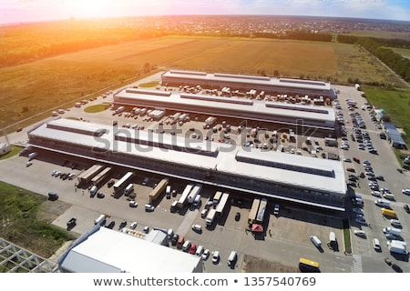 Warehouse building Stock photo © speedfighter