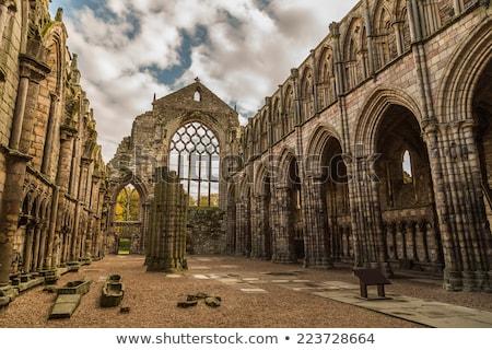 дворец аббатство Эдинбург Шотландии дома здании Сток-фото © TanArt