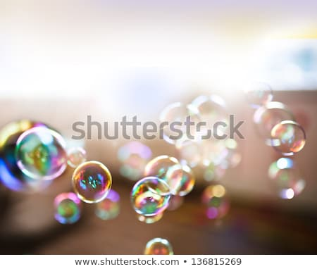 Floating Summer Bubbles Stock photo © solarseven