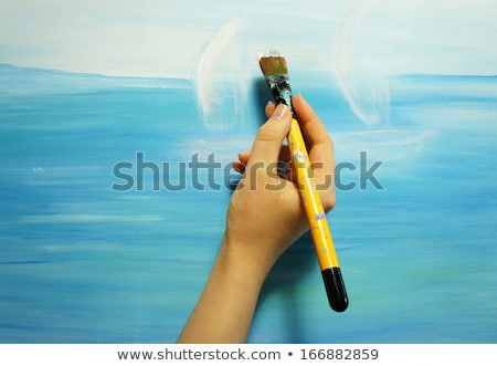 fish painter stock photo © derocz