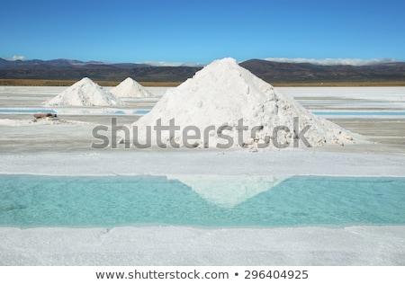 塩 プール 青空 赤 白 生産 ストックフォト © jkraft5