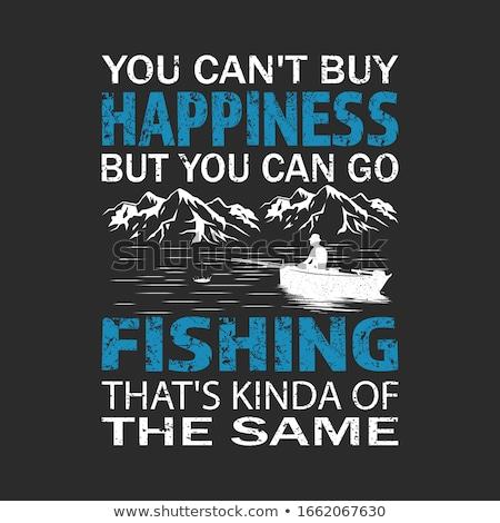fishing Illustration Stock photo © Krisdog