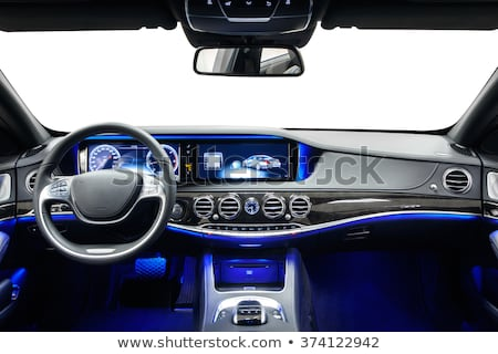 View of the interior of a modern car Stock photo © neirfy