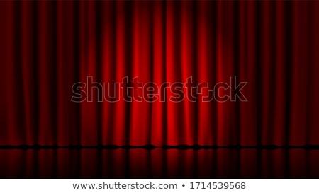 Red Theater Stage stock photo © burakowski