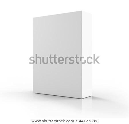 ソフトウェア · ボックス · 孤立した · 白 · コンピュータ · 紙 - ストックフォト © alexmillos