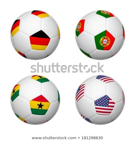 Brasil futebol campeonato 2014 grupo equipe Foto stock © cienpies