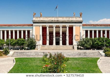 музее свет двери цвета кирпичных история Сток-фото © Kayco