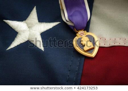 紫色 中心 詳しい 金メダル サービス ストックフォト © gleighly