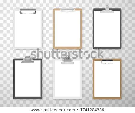 paper holder  Stock photo © inxti