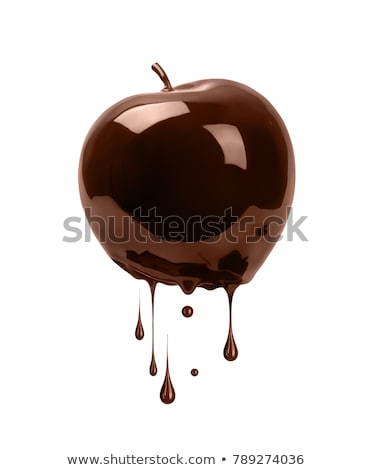 Stockfoto: Chocolade · appels · snoep · vakantie · viering · zoete