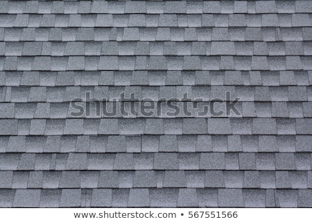 Black asphalt roofing shingles background Stock photo © njnightsky