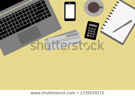 Książeczkę czekową recesja bezpieczeństwa Zdjęcia stock © devon