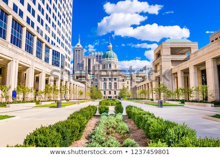 Indiana state capitol building Stock photo © AndreyKr