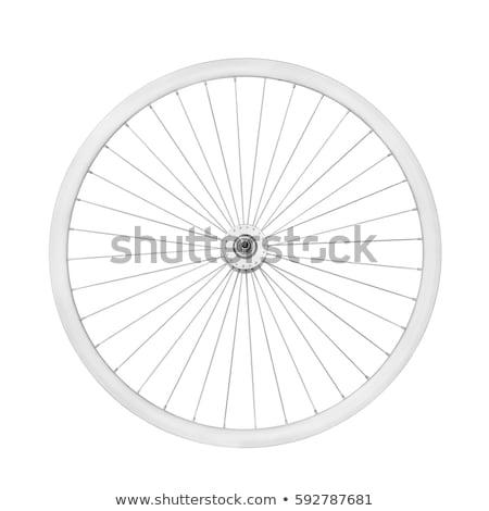 bicycle wheels without spokes Stock photo © mayboro1964
