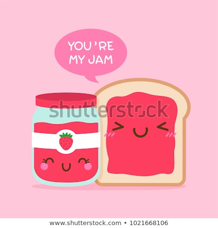 Funny Valentine card Stock photo © marimorena