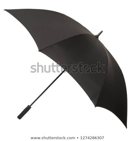 molhado · guarda-chuva · vermelho · chuva · cair · objeto - foto stock © adamson