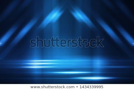 Blauw fractal abstract ontwerp groot Stockfoto © ArenaCreative