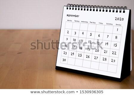 November Calendar Blank Page Stock photo © stevanovicigor