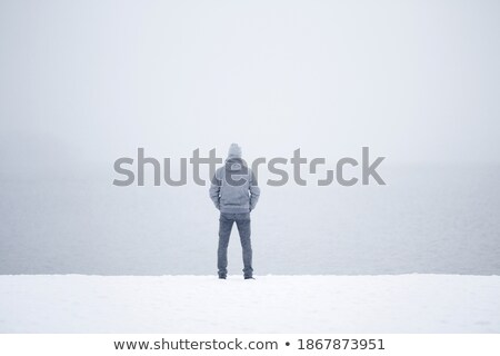 Boy with broken heart over white Stock photo © Anna_leni