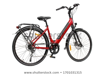 bike isolated on white background Stock photo © ozaiachin