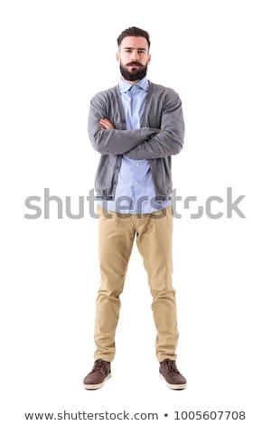 Cámara cuerpo blanco consumidor negro aislado Foto stock © Ximinez