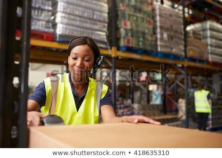 work on barcode stock photo © fuzzbones0