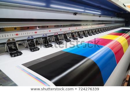 Ink-jet printer on white Stock photo © vtls