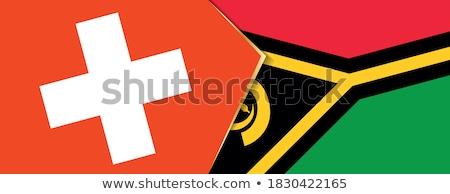 Suíça Vanuatu bandeiras quebra-cabeça isolado branco Foto stock © Istanbul2009