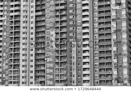 Unfinished generic residential building Stock photo © stevanovicigor