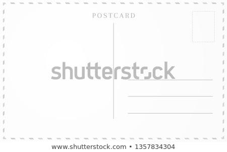 old back postcard Stock photo © Paha_L