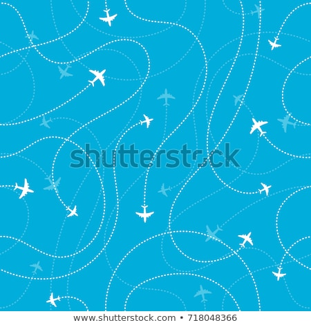 repülőgépek · vektor · illusztrációk · háború · utazás · repülőtér - stock fotó © frescomovie