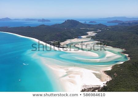 ビーチ · クイーンズランド州 · オーストラリア · グレートバリアリーフ - ストックフォト © mroz