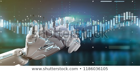 Stock Market Robot Trading Stock photo © idesign