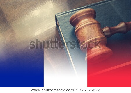 French Justice System Stock photo © Stocksnapper