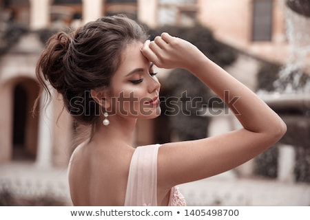肖像 · 高級 · 女性 · 宝石 · モデル · 高価な - ストックフォト © konradbak