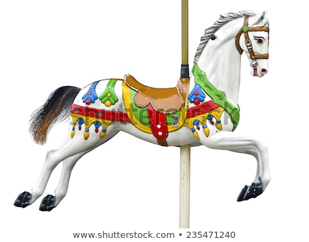 A carrousel ride Stock photo © bluering