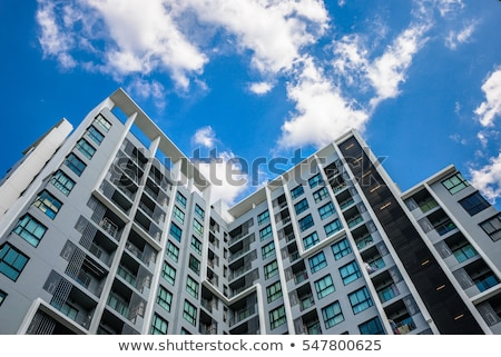A tall condominium Stock photo © bluering