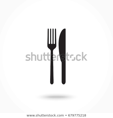 Fork and knife Stock photo © karandaev