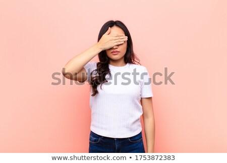 nő · portré · meztelen · nő · lány · arc · boldog - stock fotó © pressmaster