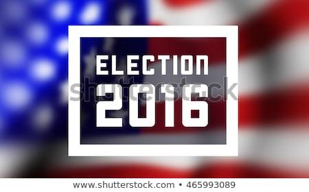 Presidentioal elecction in USA Stock photo © m_pavlov
