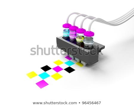 Three bottles of ink Stock photo © bluering