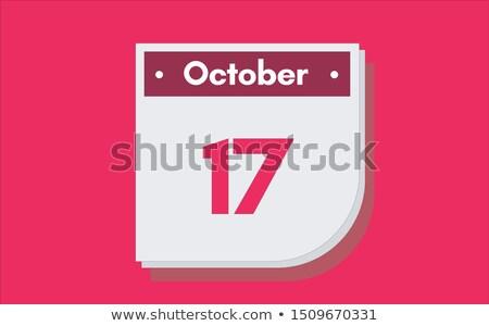 17th October Stock photo © Oakozhan