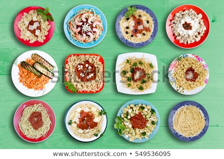 Multiple Pasta Dishes for Every Appetite Stock photo © ozgur