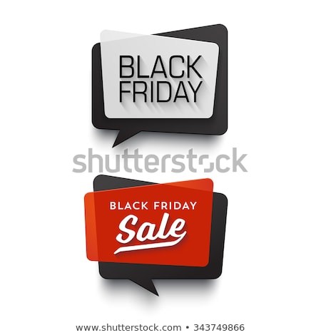 black friday shatter text style design Stock photo © SArts