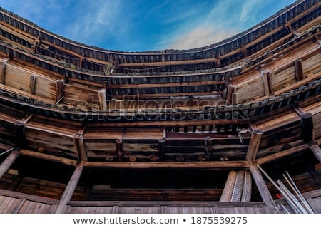 Details of an ancient pagoda  Stock photo © bbbar
