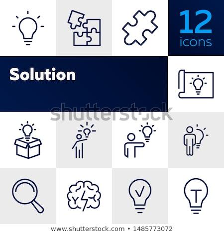 Stockfoto: Iconen · collectie · compleet