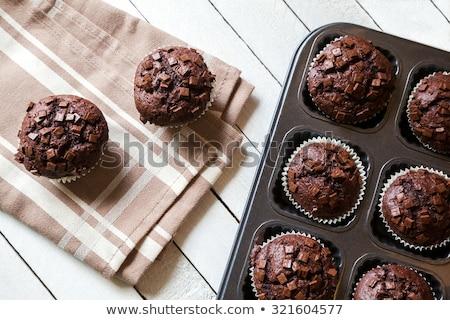 frescos · chocolate · oscuro · alimentos - foto stock © Kidza