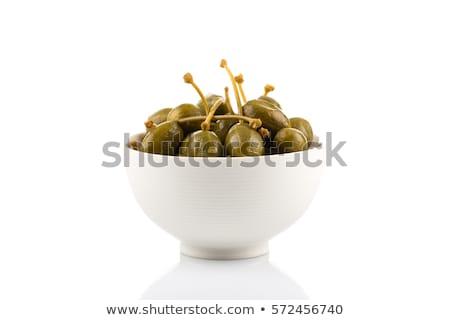 Jagody kubek beżowy miejsce owoce kubek Zdjęcia stock © Digifoodstock