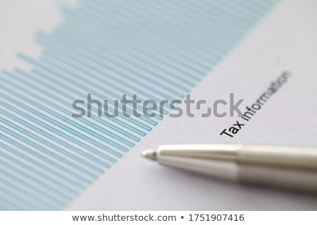 Black Office Folder with Inscription Tax. Stock photo © tashatuvango