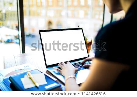 Copywriting Concept on Laptop Screen. Stock photo © tashatuvango